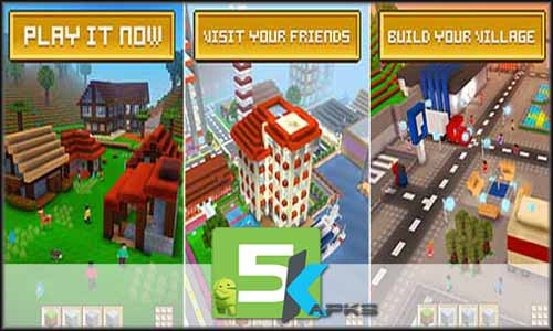 Block Craft 3D free apk full download 5kapks