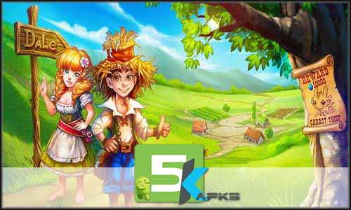 Farmdale mod latest version download free apk 5kapks