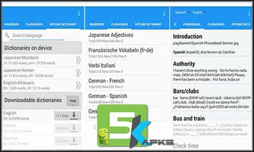Learn with Talking Translator Premium free apk full download 5kapks