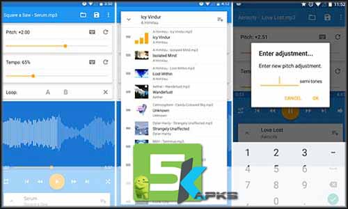 Music Speed Changer free apk full download 5kapks - Music Speed Changer v7.11.3 Apk[!Unlocked] For Android 5kApks