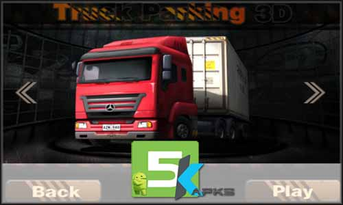 Real Truck Parking 3D mod latest version download free apk 5kapks