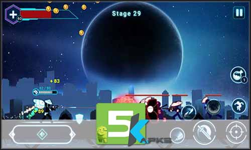 Stickman Ghost 2 Galaxy Wars mod latest version download free apk 5kapks