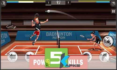 Badminton League mod latest version download free apk 5kapks