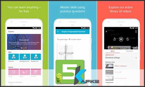 Khan Academy free apk full download 5kapks