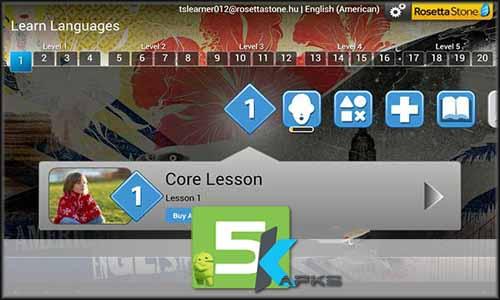 Learn Languages Rosetta Stone free apk full download 5kapks