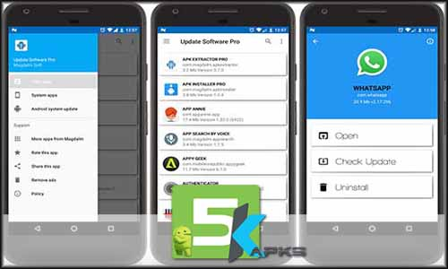 UPDATE SOFTWARE PRO free apk full download 5kapks