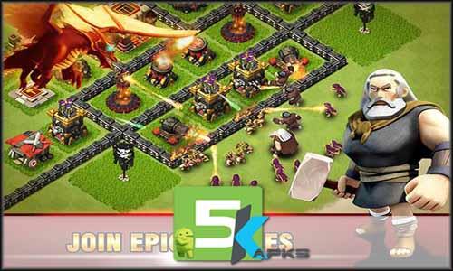 Era of War Clash of epic Clans mod latest version download free apk 5kapks