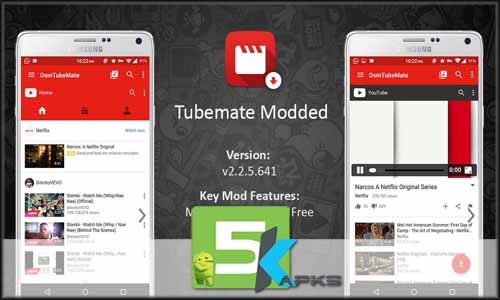 TubeMate free apk full download 5kapks