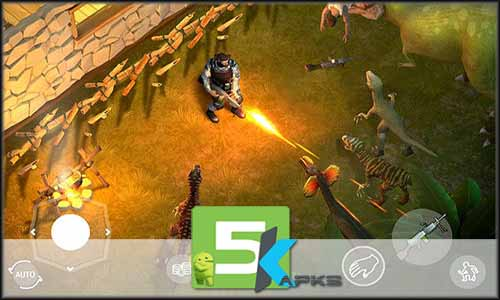 Jurassic Survival mod latest version download free apk 5kapks