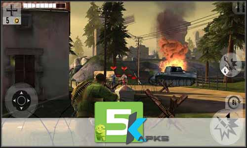 Brothers in Arms 3 free apk full download 5kapks