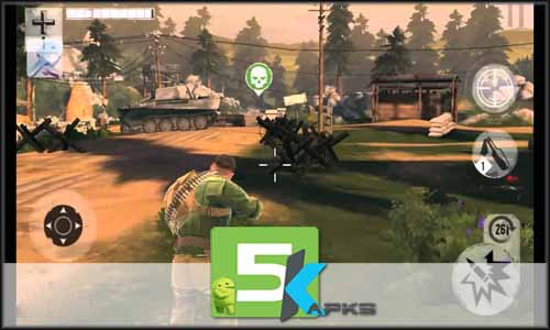 Brothers in Arms 3 mod latest version download free apk 5kapks