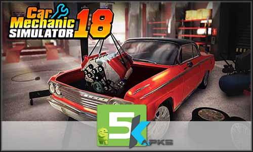 Car Mechanic Simulator 18 free apk full download 5kapks