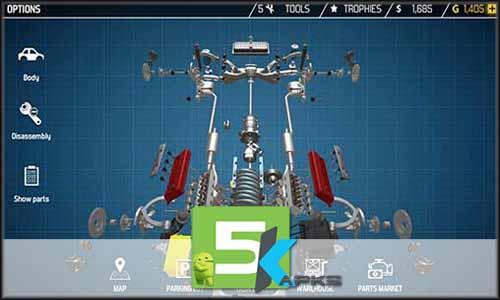 Car Mechanic Simulator 18 mod latest version download free apk 5kapks