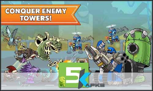 Tower Conquest mod latest version download free apk 5kapks