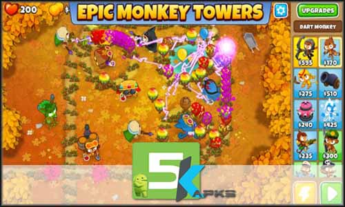 Bloons TD 6 mod latest version download free apk 5kapks