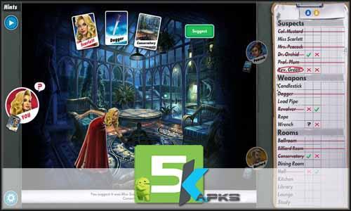 Cluedo free apk full download 5kapks