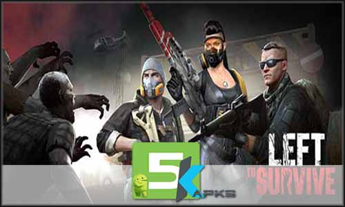 Left to Survive PvP Zombie Shooter free apk full download 5kapks