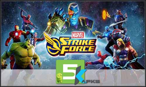 MARVEL Strike Force free apk full download 5kapks