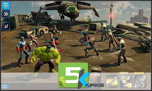 MARVEL Strike Force mod latest version download free apk 5kapks