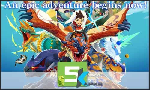 Monster Hunter Stories free apk full download 5kapks