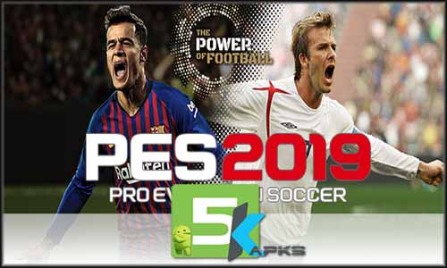 PES 2019 PRO EVOLUTION SOCCER free apk full download 5kapks
