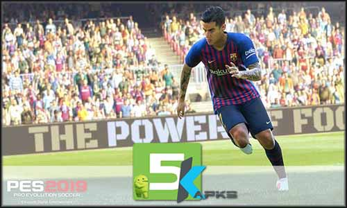 PES 2019 PRO EVOLUTION SOCCER mod latest version download free apk 5kapks