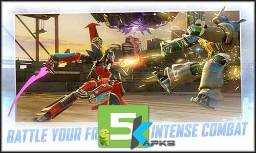 TRANSFORMERS Forged to Fight mod latest version download free apk 5kapks