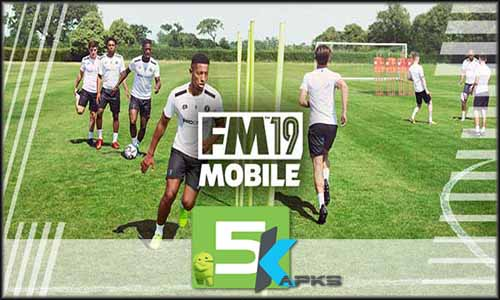 Football Manager 2019 Mobile free apk full download 5kapks