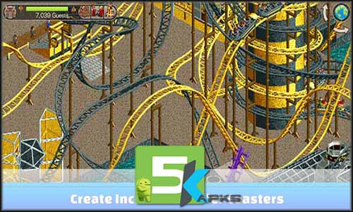 RollerCoaster Tycoon Classic free apk full download 5kapks