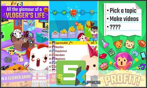 Vlogger Go Viral - Tuber Game mod latest version download free apk 5kapks