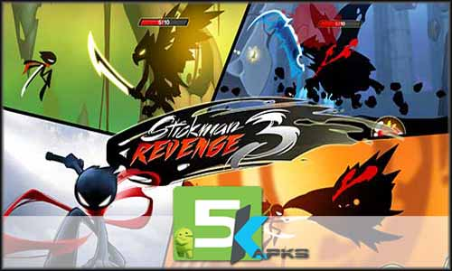 Stickman Revenge 3 free apk full download 5kapks