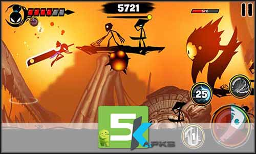 Stickman Revenge 3 mod latest version download free apk 5kapks