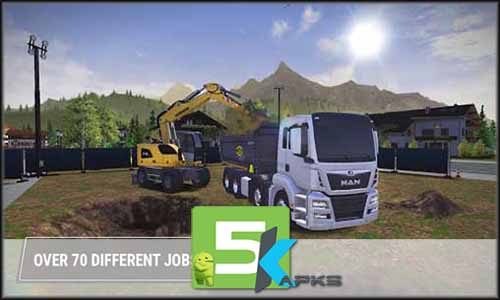 Construction Simulator 3 mod latest version download free apk 5kapks
