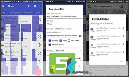 IDM+ Fastest download manager free apk full download 5kapks