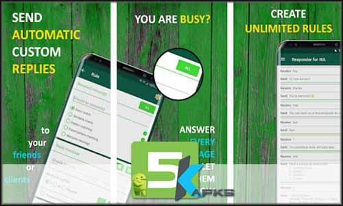 AutoResponder for WhatsApp Pro v1 1 8 Apk [Full Version]