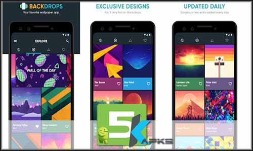 Backdrops Wallpapers V4 1 2 Apk Pro Features