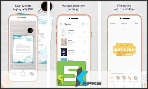 Easy Scanner - Camera to signed PDF free apk full download 5kapks
