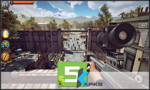 Last Hope Sniper Zombie War Mod Apk Unlimited Money