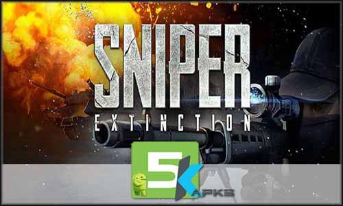 Sniper Extinction free apk full download 5kapks