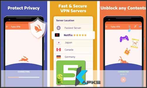Turbo VPN – Unlimited Free VPN free apk full download 5kapks