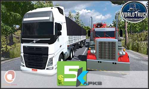 World Truck Driving Simulator free apk full download 5kapks