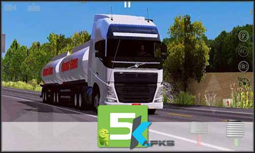 World Truck Driving Simulator free apk full download 5kapks1