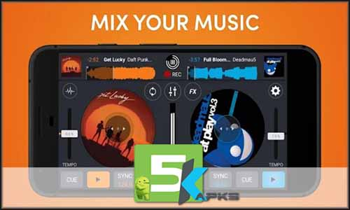 Cross DJ Pro - Mix your music free apk full download 5kapks