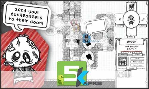 Guild of Dungeoneering mod free apk full download 5kapks