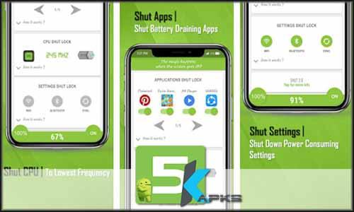 ShutApp - The Real Battery Saver free apk full download 5kapks