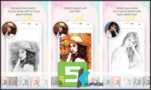 Sketch Photo Maker free apk full download 5kapks