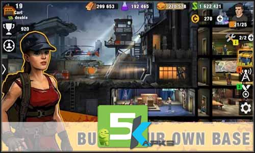 Zero City Zombie Shelter Survival free apk full download 5kapks