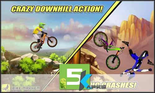 Bike Mayhem Mountain Racing free apk full download 5kapks