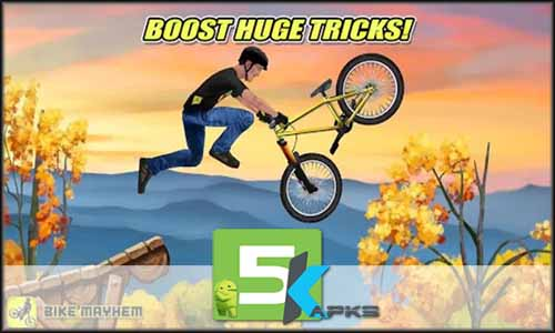 Bike Mayhem Mountain Racing mod free apk full download 5kapks