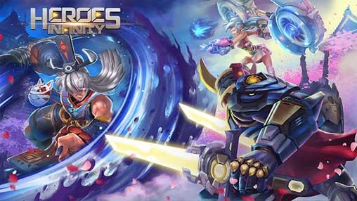 Heroes Infinity God Warriors free apk full download 5kapks